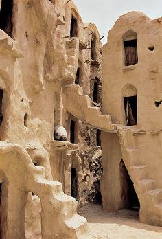 Berber dwellings, Tataouine, Tunisia