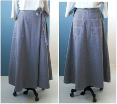 Waist Skirt, High Waisted Skirt, Tie Dye Skirt, Sewing Patterns, Skirts, How To Make, Style, Fashion, Japanese Sewing