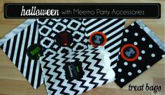 Halloween_ Favor Bags Pumpkin Carving Party, Halloween Treat Bags, Party Accessories, Favor Bags, Tatting, Birthday Parties, Crafty, Creative, Kids