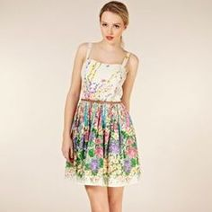 Oasis Climbing Floral Belted Sundress #summer #holiday