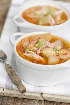 Thai Chicken & Potato Stew (slow cooked)