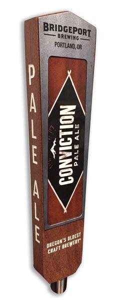 Bridgeport Brewing custom tap handle.