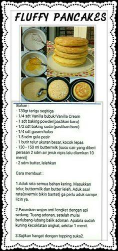 Breakfast Menu, Breakfast Recipes, Food N, Food And Drink, Pancake Cupcakes, Resep Cake, Western Food, Malaysian Food, Indonesian Food