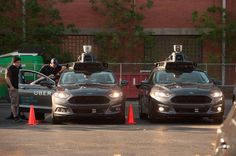 Uber driverless Ford Fusions sit in the Uber Technical Center parking lot on September, 22, 2016 in Pittsburgh, Pennsylvania. (Photo by Jeff Swensen/Getty Images) The self-driving car craze seemed to come out of left field. In just the last few years, the idea that cars could pilot themselves around cities and [...]