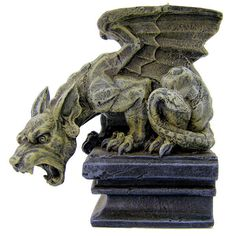Dog Gargoyle - get the feeling Nico di Angelo has one somewhere.