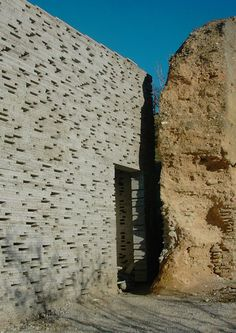 The Meeting Shadow Building Costs, Building Design, Promenade Architecturale, Architecture Design, Andalucia Spain, Granada Spain, Concrete Building, Brick Facade, Adaptive Reuse