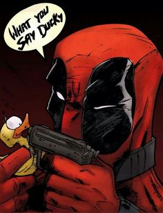 marvel vs deadpool by poofler on DeviantArt Deadpool Und Spiderman, Deadpool Love, Batman, Deadpool Funny, Deadpool Art, Comic Book Characters, Comic Character, Comic Books Art, Comic Art