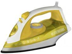 Ferro a Vapor e a Seco Black&Decker X5601BR - Amarelo e Branco