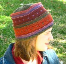 Free Knitting Pattern - Hats: Simple Fair Isle Hat