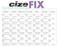Cize Fix Calendar! Gonna do this for my next round of Cize!!