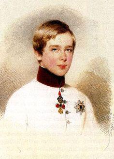 Franz Joseph in 1846.