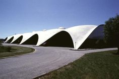 Heinz Isler - concrete shell constructions