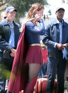 Supergirl - 008_ep3 behind the scenes