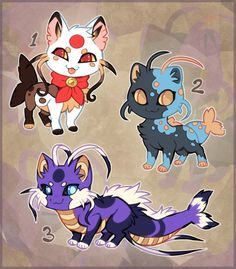 Offer 1 is mine 2,3 come together please adopt aqua and miku