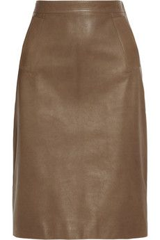 Gucci Leather pencil skirt  | NET-A-PORTER
