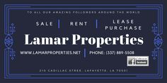 Lamar Properties is a diverse real estate organization with resources to support Real Estate investors from construction, remodeling, property portfolio development, accounting functions, listing/ selling property to grow wealth through real estate.