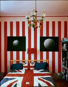 Union Jack bedroom