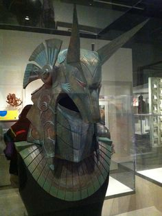 """Anubis guard helmet from the """"Stargate"""" movie 