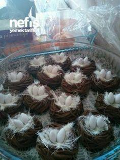 Bird Kuş Yuvası Bird nest - – Dünya mutfağı – Las recetas más prácticas y fáciles Fish Recipes, Meat Recipes, Pasta Recipes, Snack Recipes, Dessert Recipes, Cooking Recipes, Fun Desserts, Easter Dinner Recipes, Food Platters