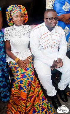 EMMANUEL & PAMELA: A STYLISH TRADITIONAL ENGAGEMENT   I do Ghana