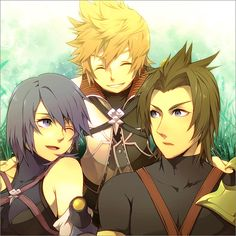 Terra, Ventus and Aqua, Kingdom Hearts: Birth By Sleep
