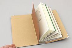 Midori Traveler's Notebook Binder : Regular Size || JetPens