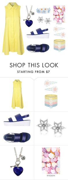 """""""Sin título #98"""" by mnmbfs ❤ liked on Polyvore featuring Monsoon, P.A.R.O.S.H., Cara Couture, Charming Life and Kiyonna"""