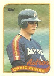 1989 Topps #49 Craig Biggio RC by Topps. $3.00. 1989 Topps Co. trading card in near mint/mint condition, authenticated by Seller