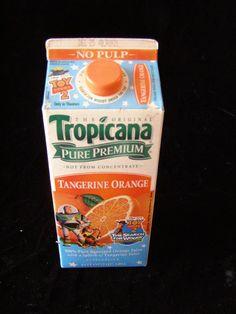 Disney Toy Story 2 Tropicana Orange Juice #collectibles #collectables #disneyana #toystory #Tropicana #oldfoodpackaging #memorabilia