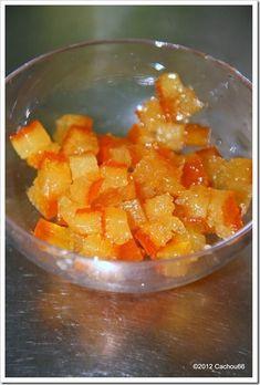 Ecorces d'oranges confites Cook'in