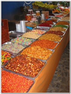 """If you like candies and/or nuts the you'll like a visit to the """"Tianguis"""" in Ajijic, Mexico."""