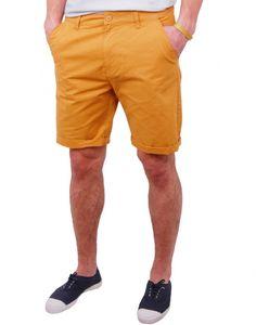 http://www.letagehomme.com/short-chino-moutarde-raajin.html #Short #Mustard