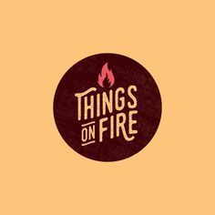 Follow us  @logoinspirations Things On Fire by @thingsonfire -  logocore.com/learnlogodesign  logoinspirations.co