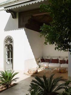 La rehabilitación de un Riad que resurge de sus cenizas en Marrakech