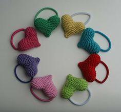 crochet hair accessories