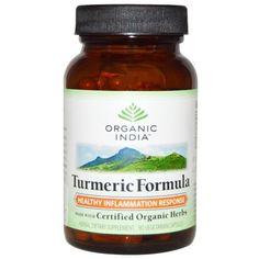 ORGANIC INDIA Turmeric Formula 60/ 250 Capsules Bottle Organic Supplements #ORGANICINDIA