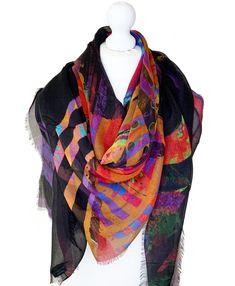 Irish Design, Scarf Design, Cashmere Scarf, Keep Warm, Wearable Art, Sustainable Fashion, Luxury Branding, Plaid Scarf, Scarves
