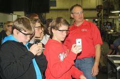 Students consider careers in #manufacturing #Jobs #STEM #CTE