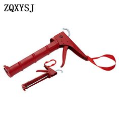 Red semi-circular plated glass glue gun beauty sewing tool sealing glue gun. #semi #circular #plated #glass #glue #beauty #sewing #tool #sealing Glass Glue, Glue Gun Crafts, Tool Store, Construction Tools, Sewing Tools, Plating, Guns, Red, Beauty