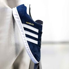 A Terrace casual favourite, the adidas Originals Hamburg Trainer. Available in men's & women's sizes.