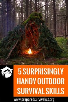Imagine you are lost. What would you do? Scream for help? Call 911? Use your GPS on your phone to get back home? But what if your battery dies? You need to learn to take care of yourself! So I got 5 outdoor survival skills for you to be able to fend for yourself.