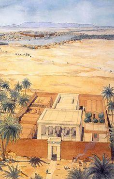 Égypte - Hibis - Temple de Nadoura http://jeanclaudegolvin.com/
