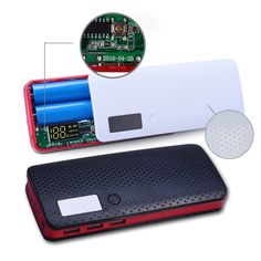 4.75$  Watch here - Newest 3 Ports 5x18650 DIY Portable Battery Power Bank Shell Case Box LCD Display Powerbank Box DIY KIT 18650 (No Battery)   #aliexpressideas