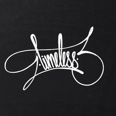 "The original piece ""timeless"" #typography #streetstyle"