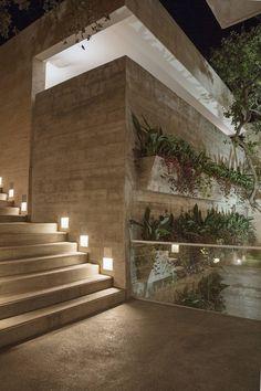CASA SAN ÁNGEL : Jardines modernos de Landa Suberville