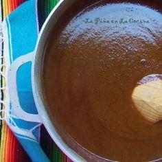 Oaxacan-Style Mole (Mo-Leh) Sauce - La Piña en la Cocina Mole Enchiladas Recipe, Guacamole Sauce, Oaxaca Cheese, Mexican Chocolate, Toasted Sesame Seeds, Tasty, Yummy Food, Leh, Serving Plates