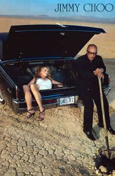 Another dead woman in a trunk image via a 2006 Jimmy Choo ad. Guest appearance by Quincy Jones. Note: Quincy Jones was an abuser of Michael Jackson and Will Smith, among many, many others, no doubt. Mona Lisa, Illuminati, Metro Madrid, Quincy Jones, Media Literacy, Photocollage, Intersectional Feminism, Equal Rights, Women's Rights