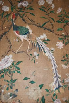 Chinese wallpaper in National Trust houses Treasure Hunt