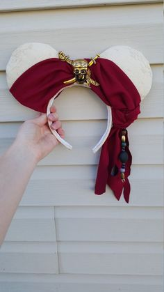 Perfect addition to the pirate costume for pirate night on the Disney Cruise! They are made to order so there is room on customizing them a bit. Diy Disney Ears, Disney Mickey Ears, Disney Diy, Disney Crafts, Cute Disney, Disney Style, Disney Trips, Disney Magic, Disney Cruise