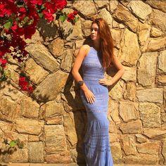 Dia lindo de sol! Aproveitando pra usar meu vestido que chegou da @galeriatricot  Amei o modelo e a cor é incrível!